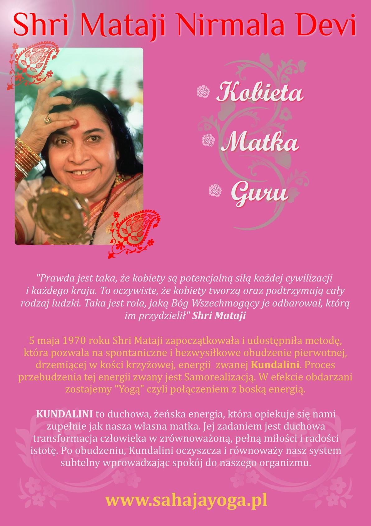 Shri Mataji - 8 marca.
