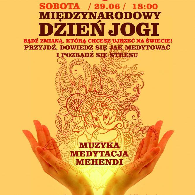 Międzynarodowy Dzień Jogi w Krakowie 29.06 o 18:00